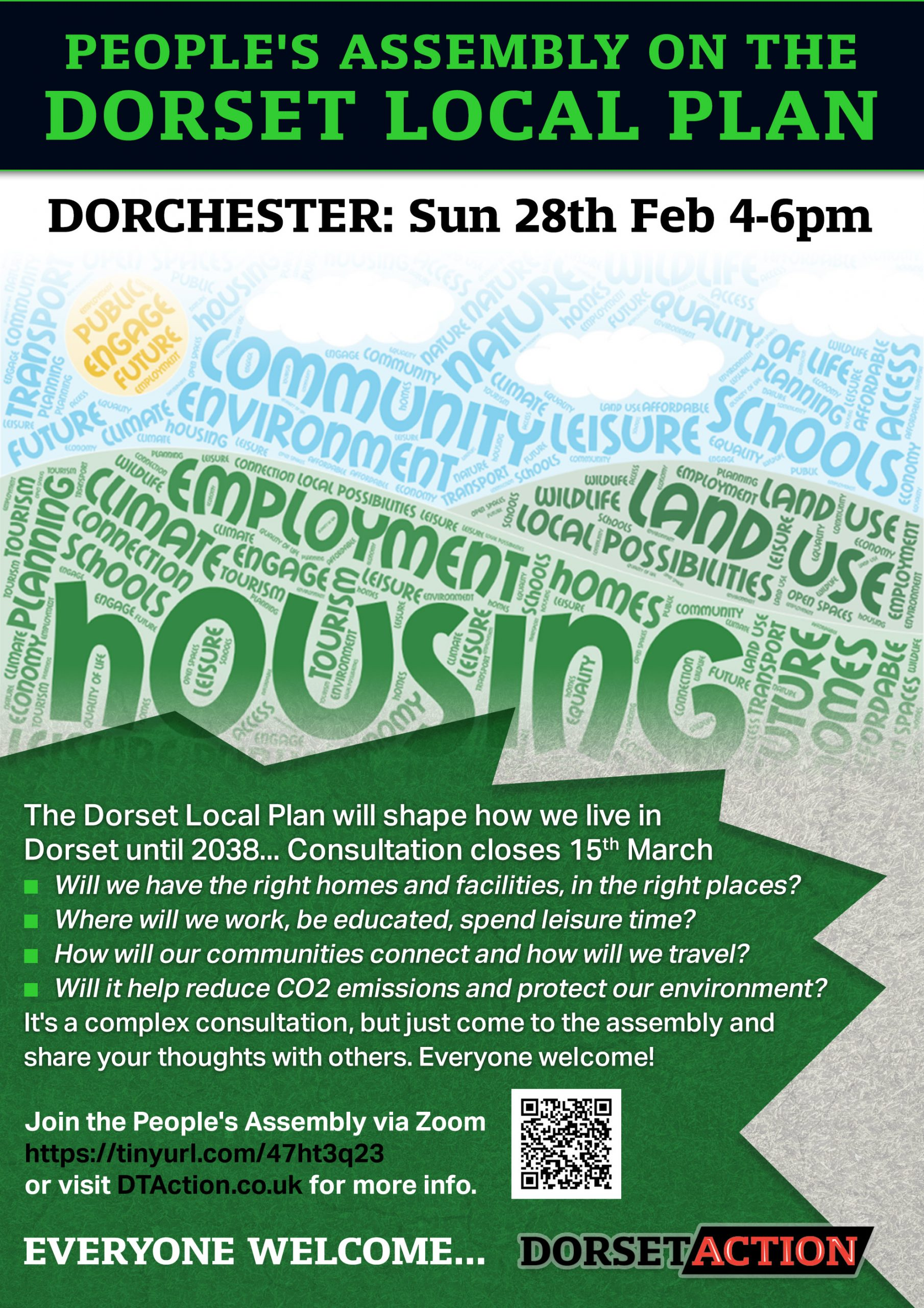 DT Action Plan poster - Dorchester